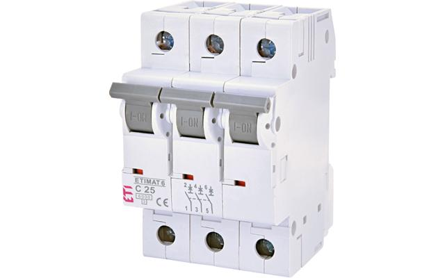 Automatski Osigurač C 25A 3P ® Eti