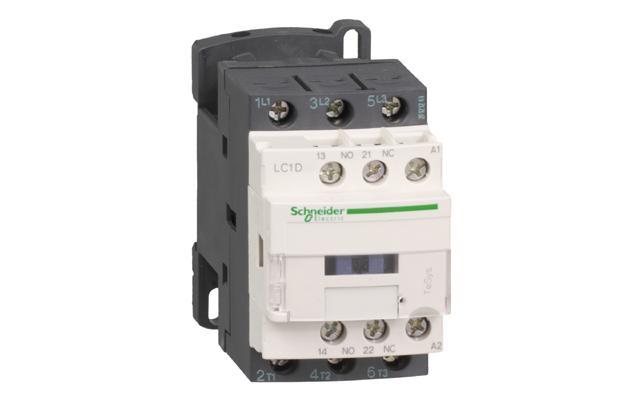 Motorni Kontaktor 9A  1NO + 1NC ® Schneider